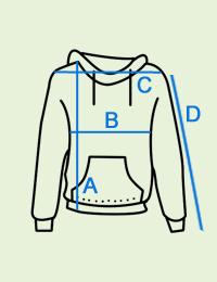 Koralinis vyriškas džemperis su gobtuvu B994 14267