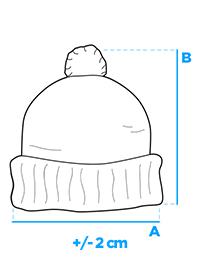 Vienspalvė juoda kepurė vyrams Fax A122