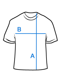 Mėlyni vienspalviai vyriški marškinėliai S1100 13721