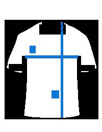 "KS014BM, Stilingi balti-mėlyni marškinėliai berniukams ""Charli"" internetu pigiau"