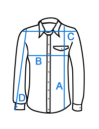 Didelių dydžių marškiniai vyrams džinsiniai WESTERN KS1024J