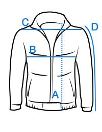 Tamsiai mėlyna striukė vyrams C351TM