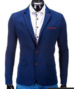 Mėlynas vyriškas švarkas Raymond M36