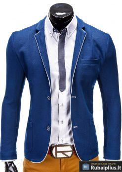 Mėlynas vyriškas švarkas