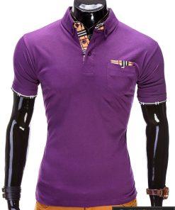 Violetiniai vyriški marškinėliai polo internetu pigiau Inspire S507