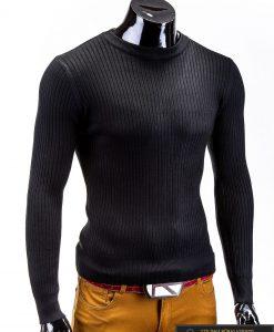 Stilingas juodos spalvos megztukas Benton 3