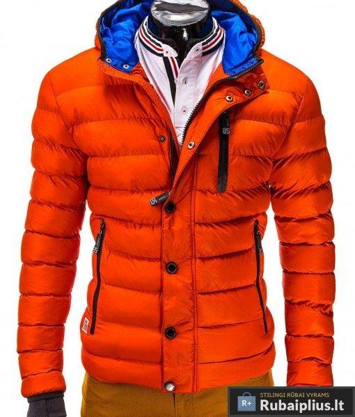 """Stilinga oranžinės spalvos striukė """"Activ"""""""