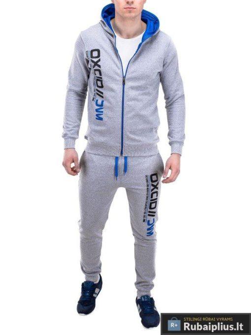 Sviesiai pilkas sportinis kostiumas Oxcid