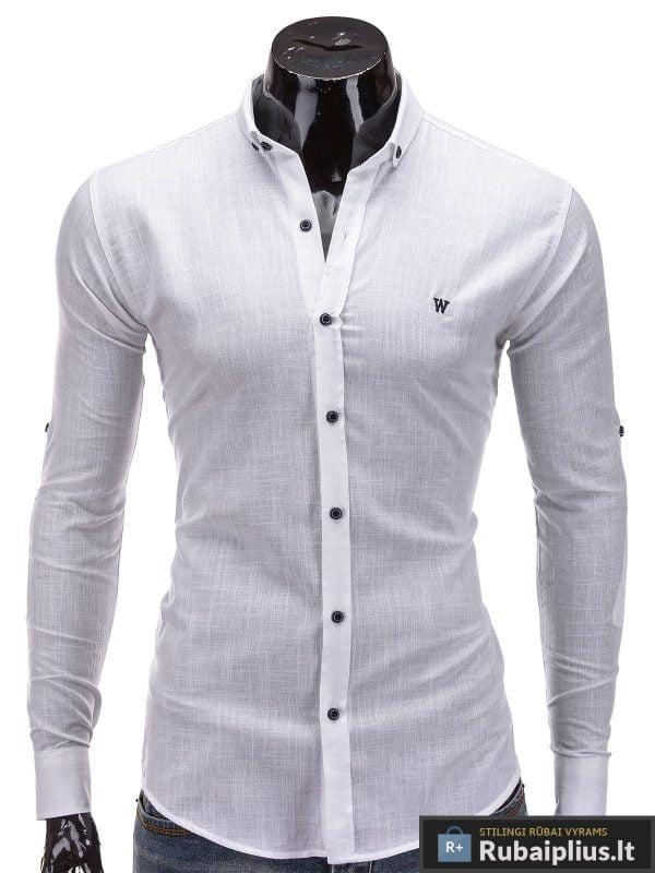 Balti marškiniai vyrams