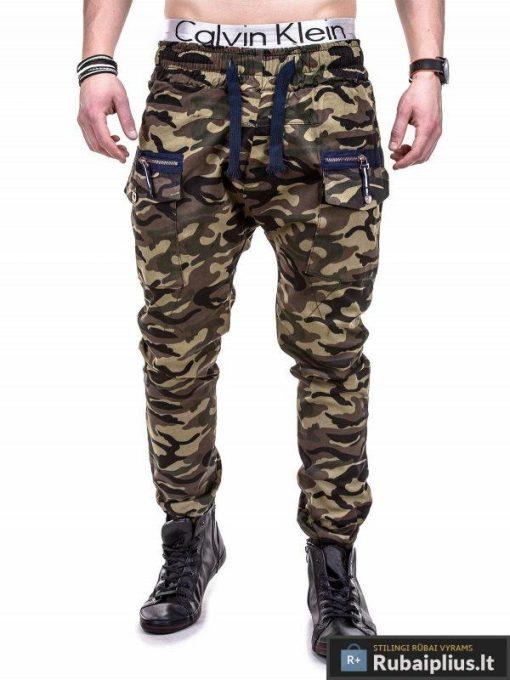 Kamufliažinės kelnes vyriškos laisvalaikio kelnės internetu pigiau Armor P274