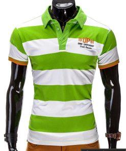 Žalios spalvos vyriški marškinėliai vyrams internetu pigiau Murano S511
