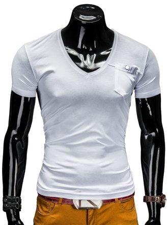 Baltos spalvos marškinėliai vyrams Deep