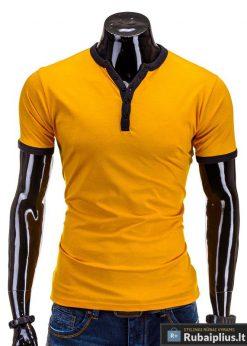 Stilingi geltonos spalvos marškinėliai internetu pigiau Sea S595