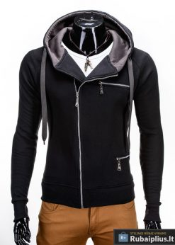 Juodas vyriškas džemperis Aron B595