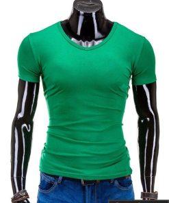 Žalios spalvos marškinėliai vyrams internetu pigiau Stegol S605