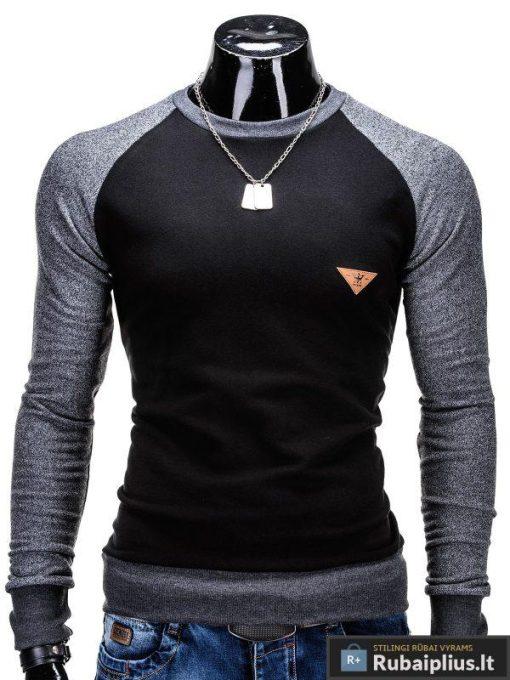 Juodas vyriškas megztinis Digo B453