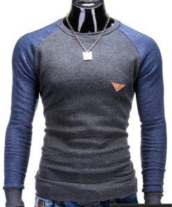 Pilkas vyriškas megztinis Digo B453