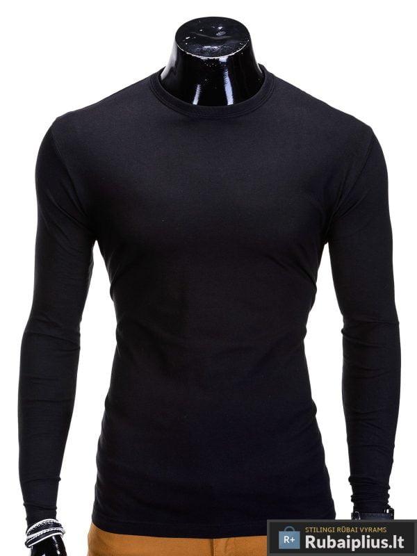 Juodos-spalvos-marškinėliai-Long
