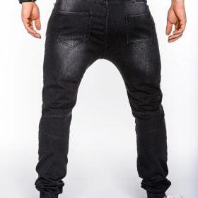 Madingos-juodos-spalvos-vyriškos-laisvalaikio-kelnės-Rad-2