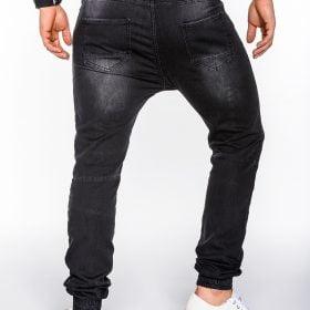 Madingos-juodos-spalvos-vyriškos-laisvalaikio-kelnės-Rad-3