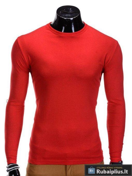 Raudonos-spalvos-marškinėliai-Long