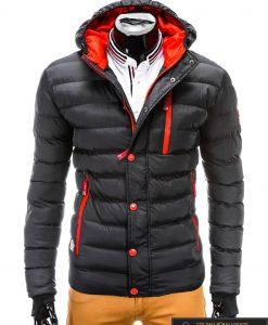juoda žieminė vyriska striuke, juodos spalvos striuke vyrams, vyriskos striukes internetu, stilinga vyriška striukė, vyriška striukė žiemai, madingos vyriškos striukės internetu, žieminės striukės, žieminė striukės, originalios striukės, aukštos kokybės, nuolaida, akcija, aukšta kokybė, greitas pristatymas, apmokėjimas gavus preke