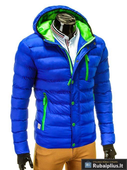 mėlyna žieminė vyriska striuke, mėlynos spalvos striuke vyrams, vyriskos striukes internetu, stilinga vyriška striukė, vyriška striukė žiemai, madingos vyriškos striukės internetu, žieminės striukės, žieminė striukės, originalios striukės, aukštos kokybės, nuolaida, akcija, aukšta kokybė, greitas pristatymas, apmokėjimas gavus preke