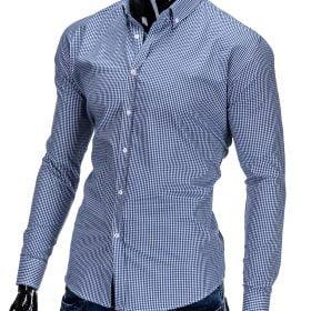 rubaiplius-Mėlynos-spalvos-marškiniai-vyrams-Clerk-2