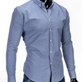 rubaiplius-Mėlynos-spalvos-marškiniai-vyrams-Clerk-3