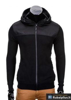 Juodas vyriškas džemperis internetu pigiau Free B628