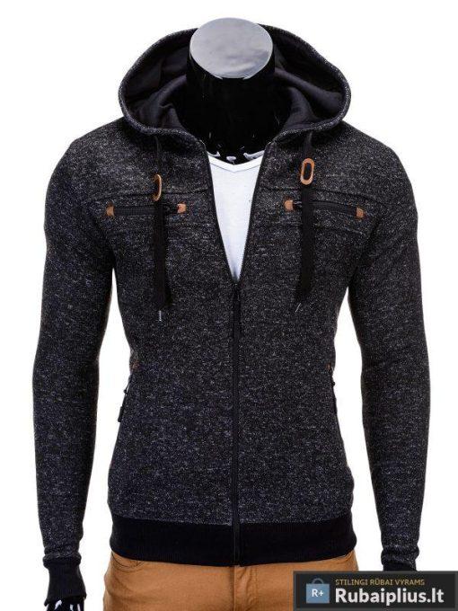 Juodas vyriškas džemperis Nord B638J