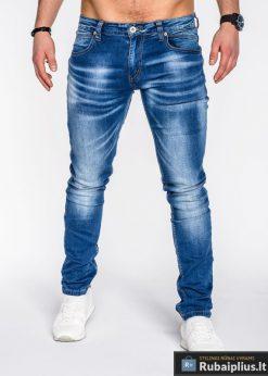 Laisvalaikio kelnės vyriški džinsai vyrams internetu pigiau Deny P487
