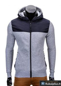 Pilkas vyriškas džemperis internetu pigiau Free B628