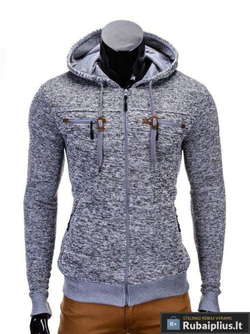 Pilkas vyriškas džemperis Nord B638P