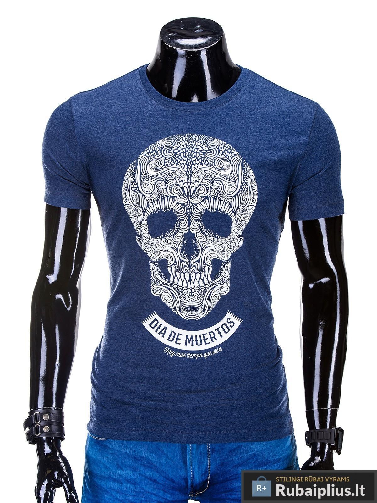 vyriški marskineliai, marškinėliai vyrams, marškinėliai internetu, kaukolė