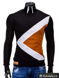 """Vyriškas džemperis. Juodas džemperis vyrams """"Erico"""" - Rubaiplius.lt"""