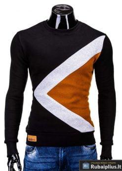 Juodas vyriškas džemperis internetu pigiau Erico B575