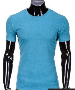 Klasikinio stiliaus melsvai žali marškinėliai vyrams internetu pigiau Fors S620
