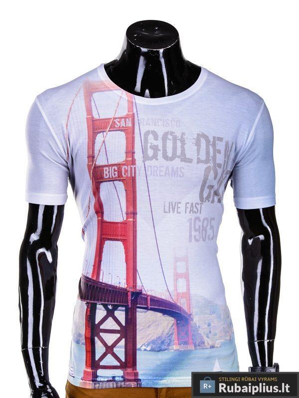 vyriški marskineliai, marškinėliai vyrams, marškinėliai internetu, tiltas