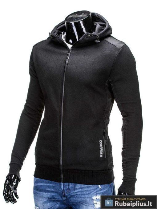 """Džemperis vyrams. Juodas vyriškas džemperis """"Grey"""" - Rubaiplius.lt"""