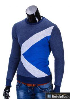 """Vyriškas džemperis. Mėlynos džemperis vyrams """"Erico"""" - Rubaiplius.lt"""