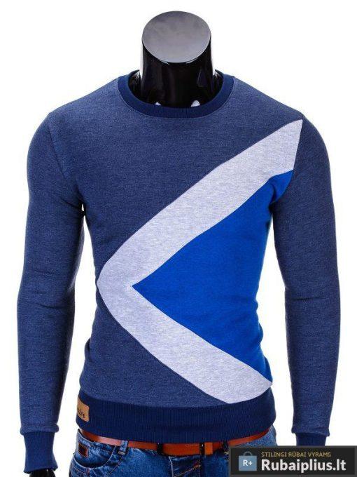 Mėlynas vyriškas džemperis internetu pigiau Erico B575