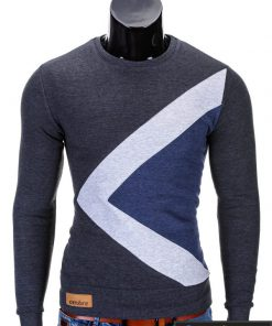 Pilkas vyriškas džemperis internetu pigiau Erico B575