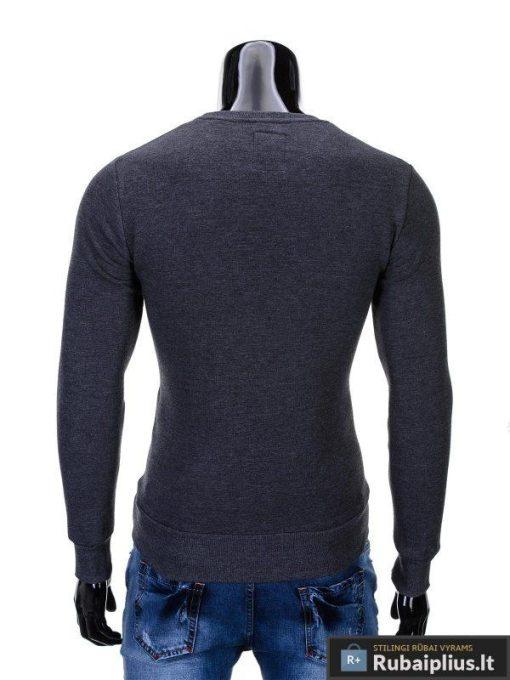 """Vyriškas džemperis. Pilkas džemperis vyrams """"Erico"""" - Rubaiplius.lt"""
