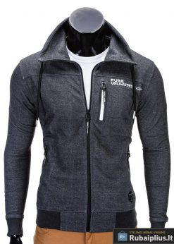Pilkas vyriškas džemperis internetu pigiau Pure B644