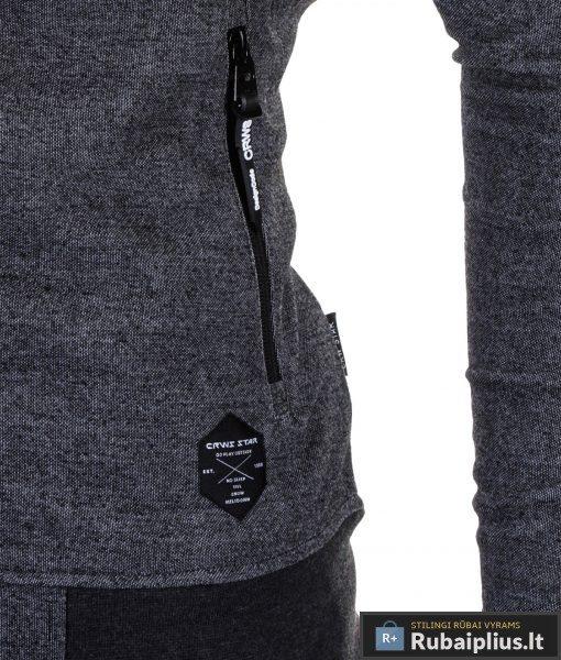 """Vyriškas džemperis. Pilkas vyriškas džemperis """"Pure"""" - Rubaiplius.lt"""
