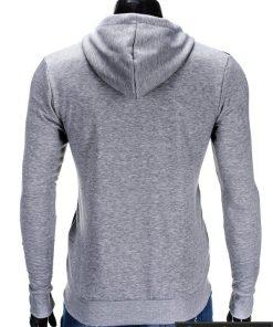 Džemperis vyrams. Pilkos spalvos vriškas džemperis