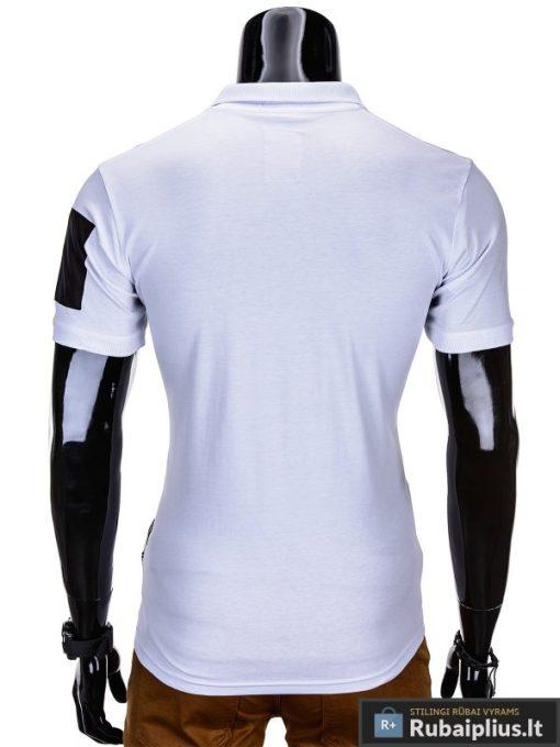 """Vyriški marškinėliai + Balti polo marškinėliai vyrams """"Fash"""" - Rubaiplius.lt"""