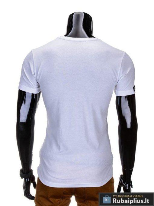 """Vyriški marškinėliai + Balti marškinėliai vyrams """"Mid"""" - Rubaiplius.lt"""