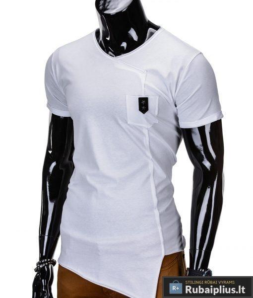"""Vyriški marškinėliai + Balti marškinėliai vyrams """"Nik"""" - Rubaiplius.lt"""